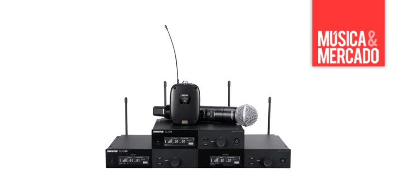 Nuevo sistema inalámbrico digital SLX-D de Shure