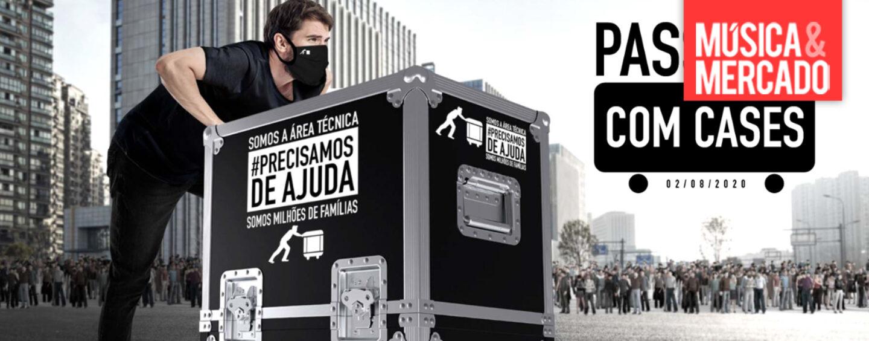 Técnicos de la industria del entretenimiento protestaron en San Pablo, Brasil