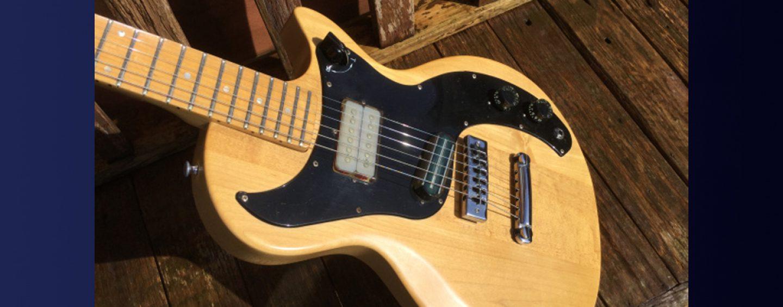 Guitarras que no tuvieron éxito: Gibson Marauder
