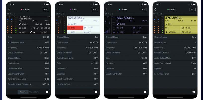 Aplicación ShurePlus Channels ahora es gratis