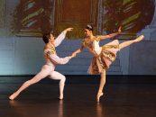 Artiste Picasso baila con Rafael Mendoza en show de ballet