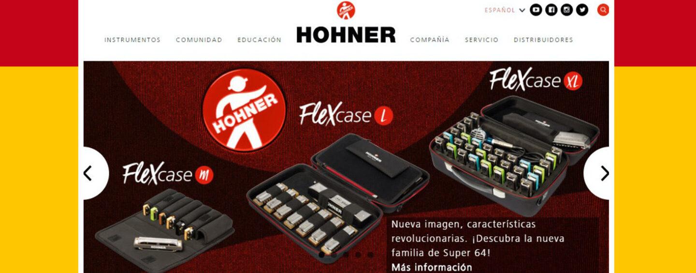 Hohner ahora tiene sitio en español