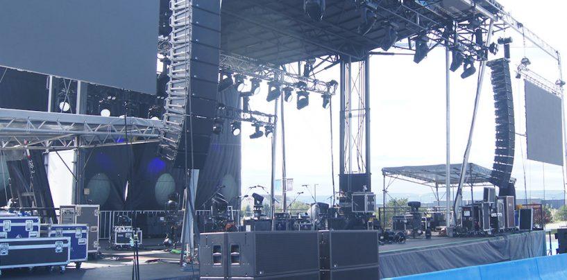Show drive-in en Estados Unidos con sistema Meyer Sound
