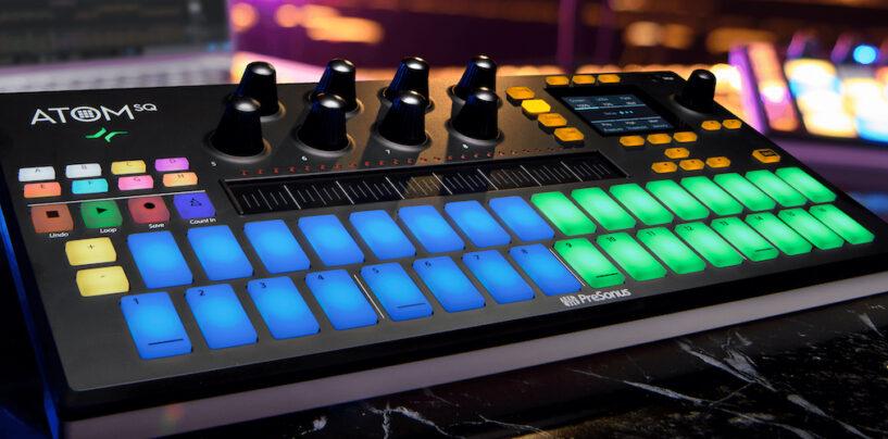 PreSonus presenta ATOM SQ Keyboard/Pad Controller