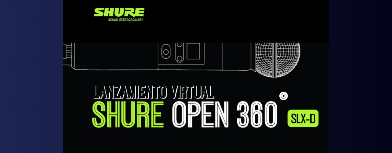 Shure presenta plataforma Open 360º para lanzar productos online
