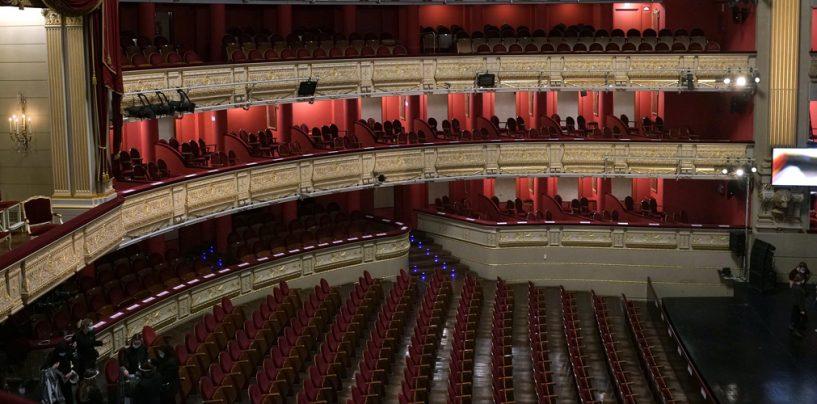 Teatro de Madrid usa luz UV GSUV para desinfectar espacios
