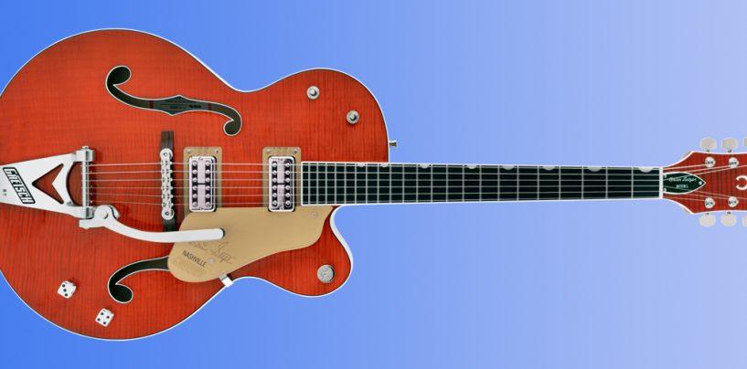 Nueva guitarra G6120TFM Brian Setzer Signature Nashville de Gretsch
