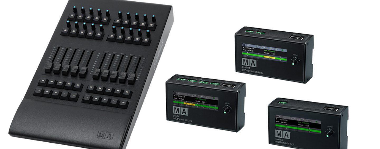 MA Lighting presenta más soluciones para la línea grandMA3 onPC