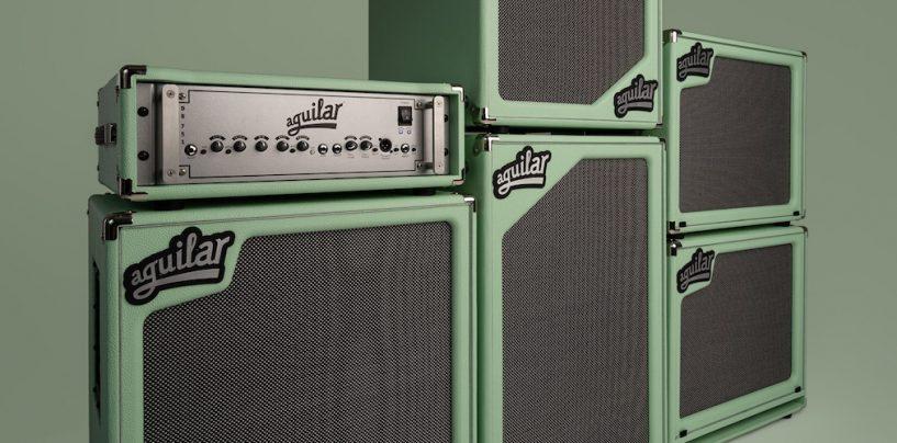 Edición especial Poseidon Green de Aguilar Amps