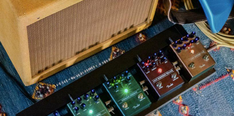 Nuevos pedales de efecto Fender