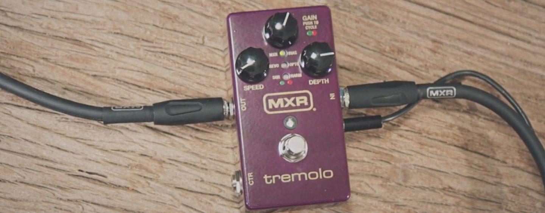 Pedal tremolo vuelve a MXR con seis formas de onda