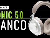 Shure presenta audífonos inalámbricos Aonic 50 en color blanco