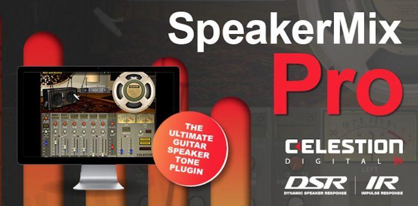 Nuevo plugin SpeakerMix Pro de Celestion