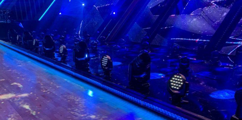 Dancing with the Stars usa aparatos de iluminación de GLP