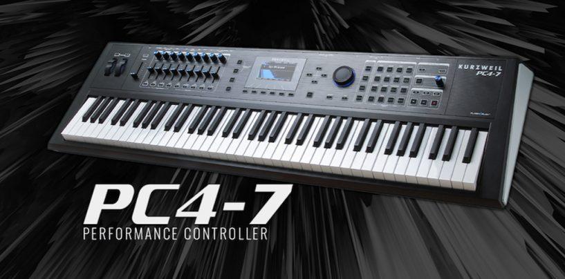 Kurzweil presenta nuevos pianos PC4-7 y SP6-7 de 76 teclas