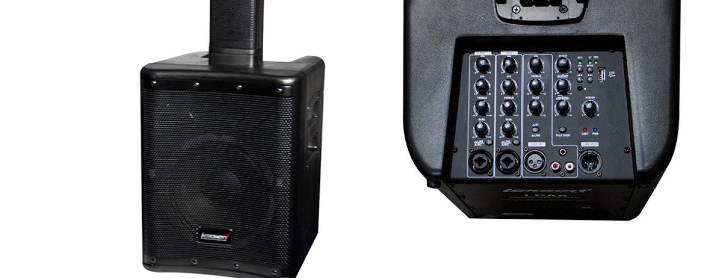 Nuevo sistema de sonido vertical portátil LPA8 de Lexsen