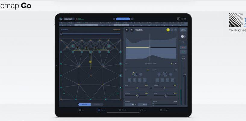 Nuevo app Spacemap Go de Meyer Sound