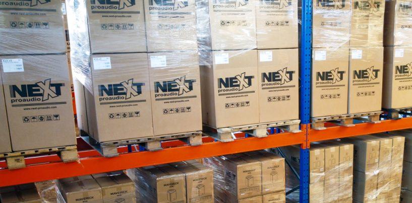 NEXT-proaudio anuncia nuevo centro de logística y nueva marca