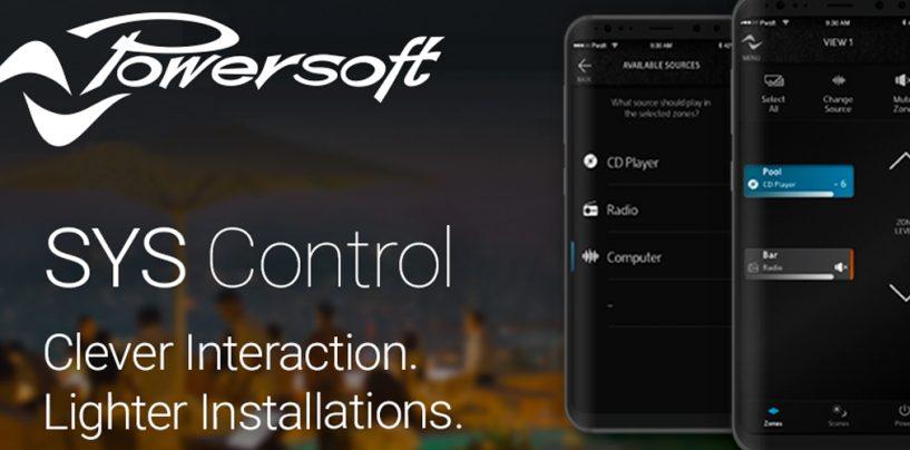 Powersoft presentó Sys Control App