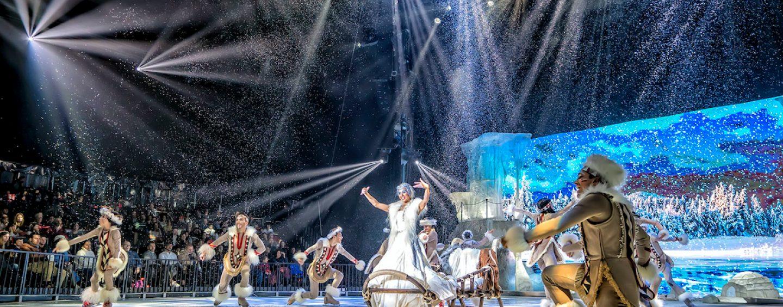 Luces Robe actúan en Circo de Hielo 2