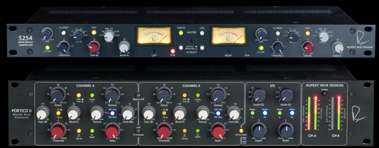 Rupert Neve Designs trae dos introducciones al mercado de audio