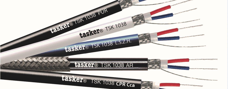 Cable para iluminación y DMX TSK1038 de Tasker