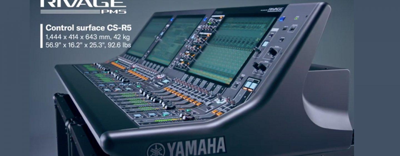 Rivage PM5 y PM3 de Yamaha ganan premio en IBC Virtual