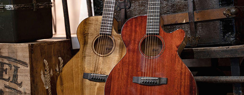 SFX-Myrtlewood es la nueva electroacústica de Cort Guitars