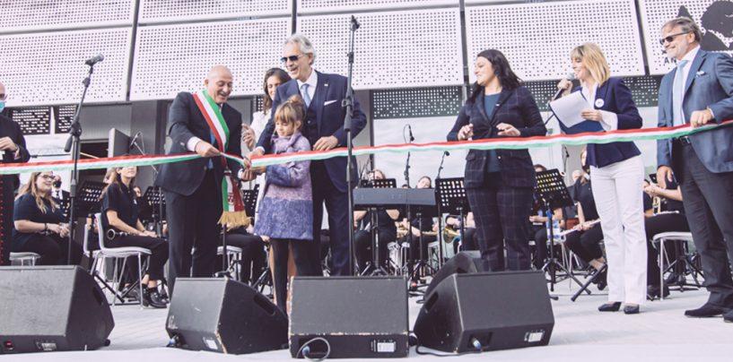Shure dona equipos para Fundación Andrea Bocelli