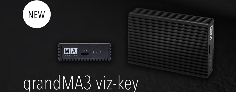 Asociación grandMA3 viz-key con fabricantes de visualización