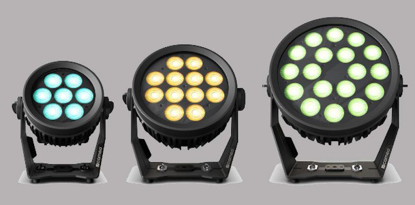Serie Flat Pro G2 de Cameo para exteriores