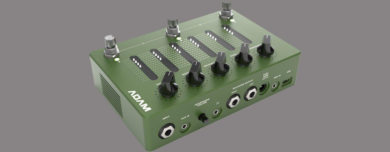 Darkglass Electronics presenta pedal ADAM