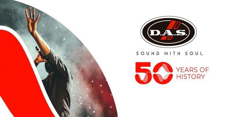 50 años de DAS Audio
