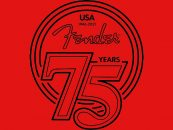 Fender celebra 75º aniversario con nuevos productos