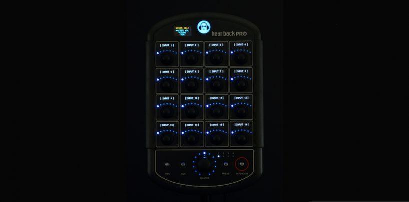 Hear presenta PRO Digital Overlay para etiquetar monitores personales