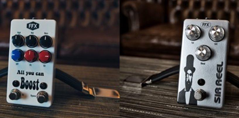 NAMM 2021: FFX Pedals lanza sus dos primeros pedales