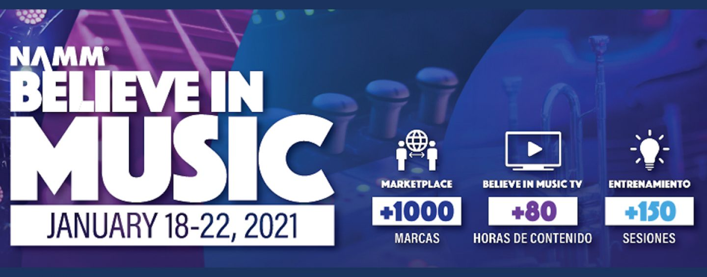 NAMM: Believe in Music Week tendrá livestream de actuaciones de artistas internacionales
