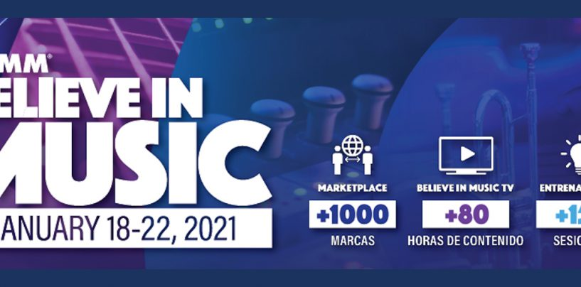 NAMM: Believe in Music Week tendrá livestream de actuaciones de artistas internacionales