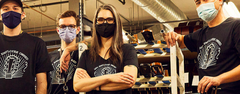 Taylor Guitars ahora pertenece 100% a sus empleados
