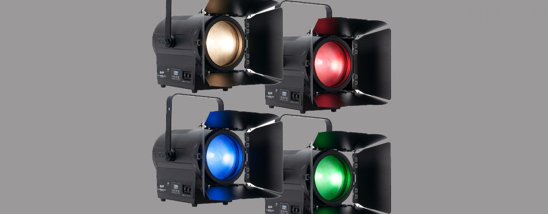 Elation presenta KL Fresnel 8 FC colorido