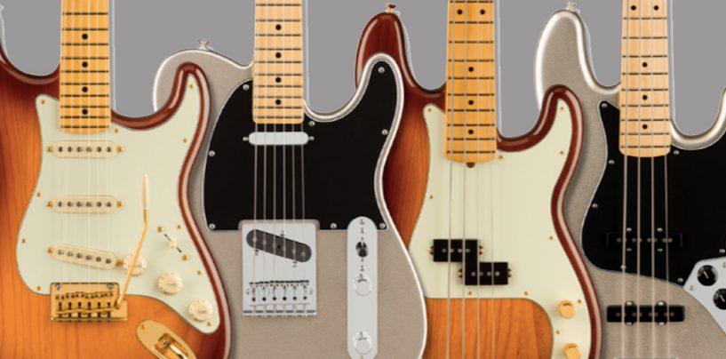 Guitarras eléctricas del 75º aniversario de Fender