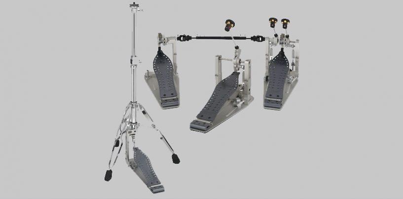 Pedales DW MFG disponibles en modelos de pedalera extendida