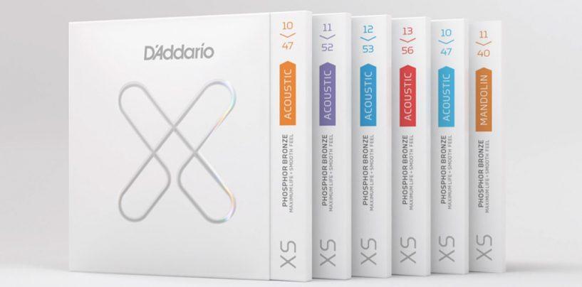 Cuerdas XS de D'addario ganan versión revestida