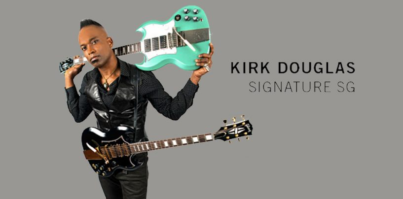 Nueva SG de Gibson para Kirk Douglas