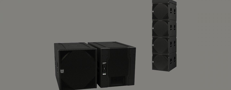 Subwoofers SXCF118 y SXC115 de Martin Audio