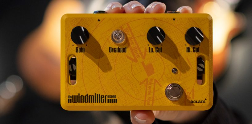 Aclam Guitars presenta pedal Windmiller Preamp