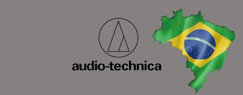 Audio-Technica anuncia filial en Brasil