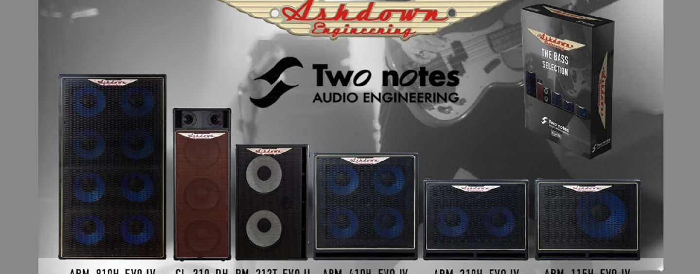 Ashdown lanza gabinetes virtuales con Two Notes Audio Engineering