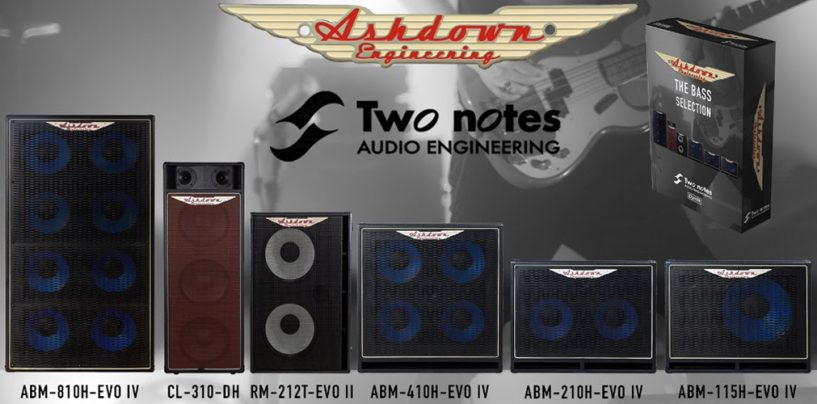 Ashdown lanza gabinetes virtuales con Two Notes Audio Engineering