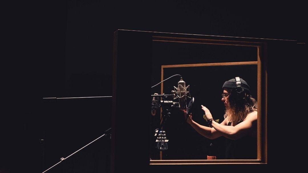 CREDIT Laura Limon HBOCTO mixer La Banda del Bisonte at el alto estudio …